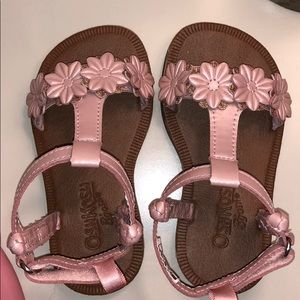 Toddler Girls Oshkosh Flower Sandals